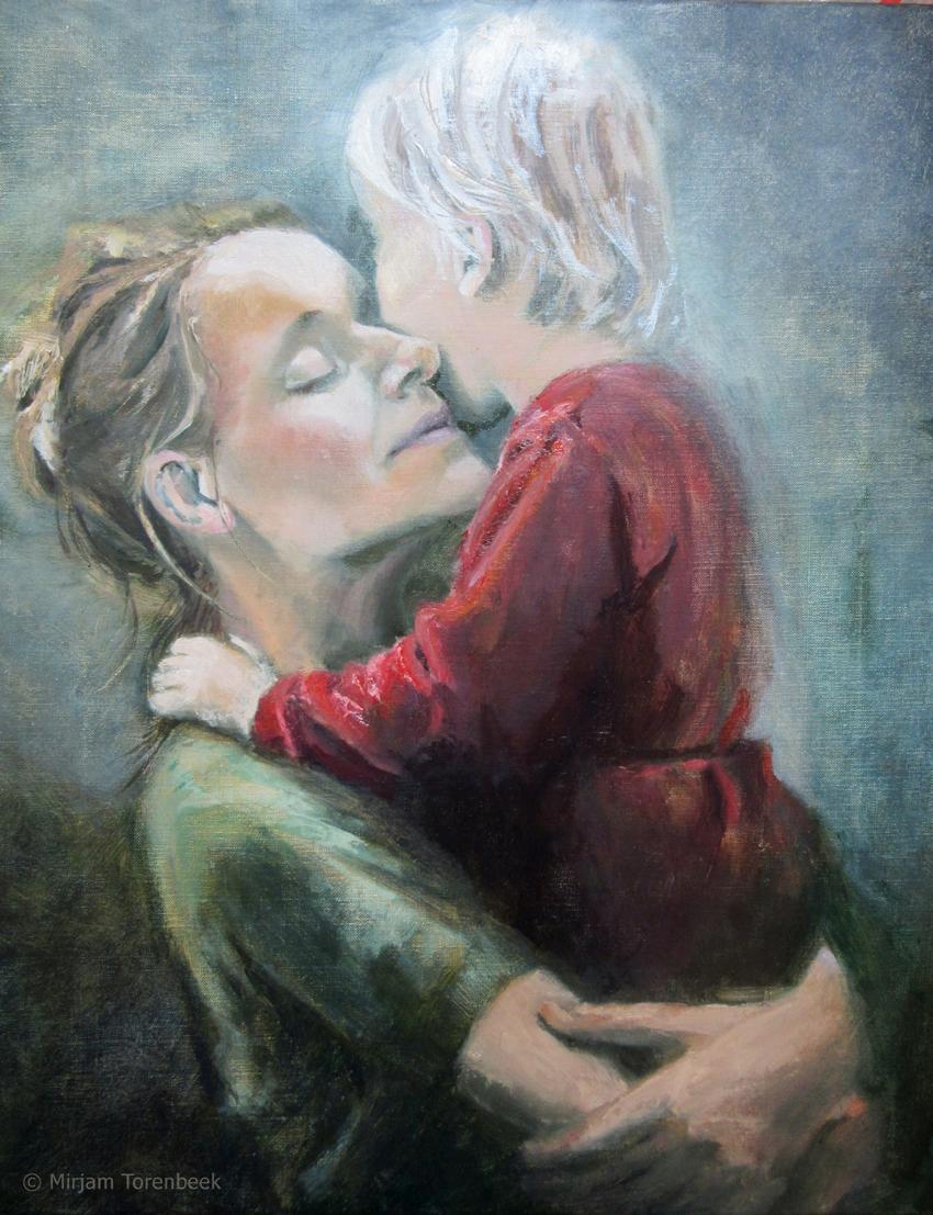 portret schilderen in olieverf