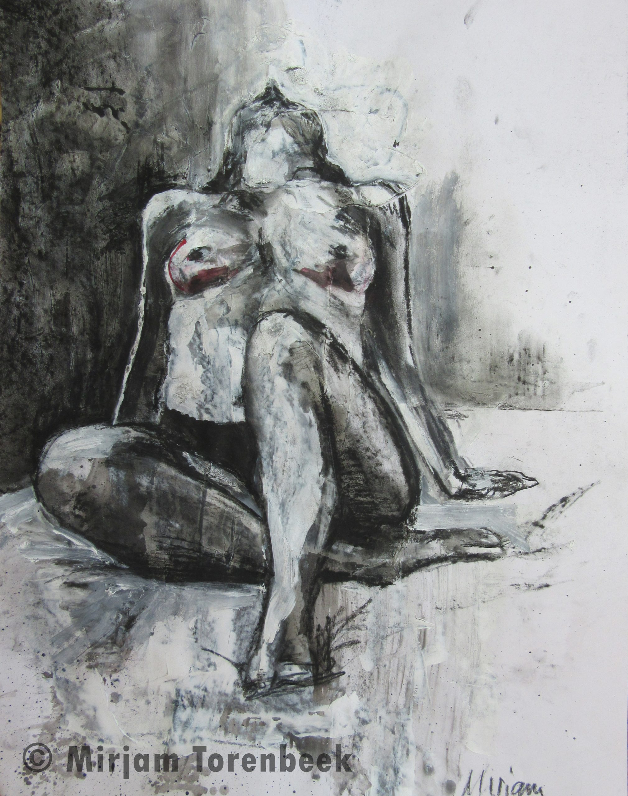 I love myself - conte en acryl
