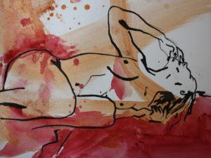 erotische kunst met een ziel