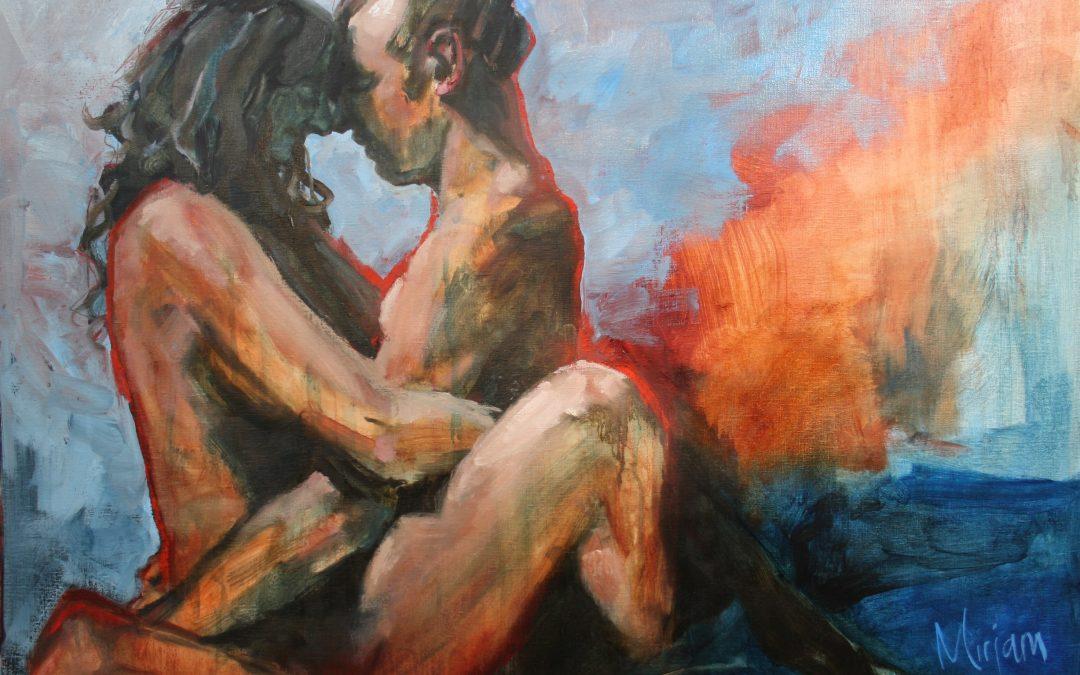 Een erotisch schilderij creëren