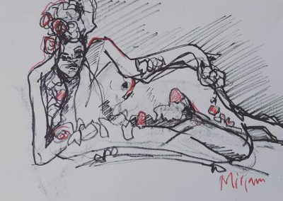 life drawing Mirjam Torenbeek